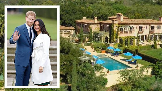 prince harry and meghan markle house in montecito prince harry and meghan markle house in