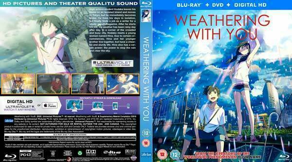 Weathering With You Is Now Available In Blue Ray And Hd Versions Click To Know The Release Date And Other Features The Market Activity