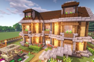 Minecraft Wooden House Archives The Market Activity