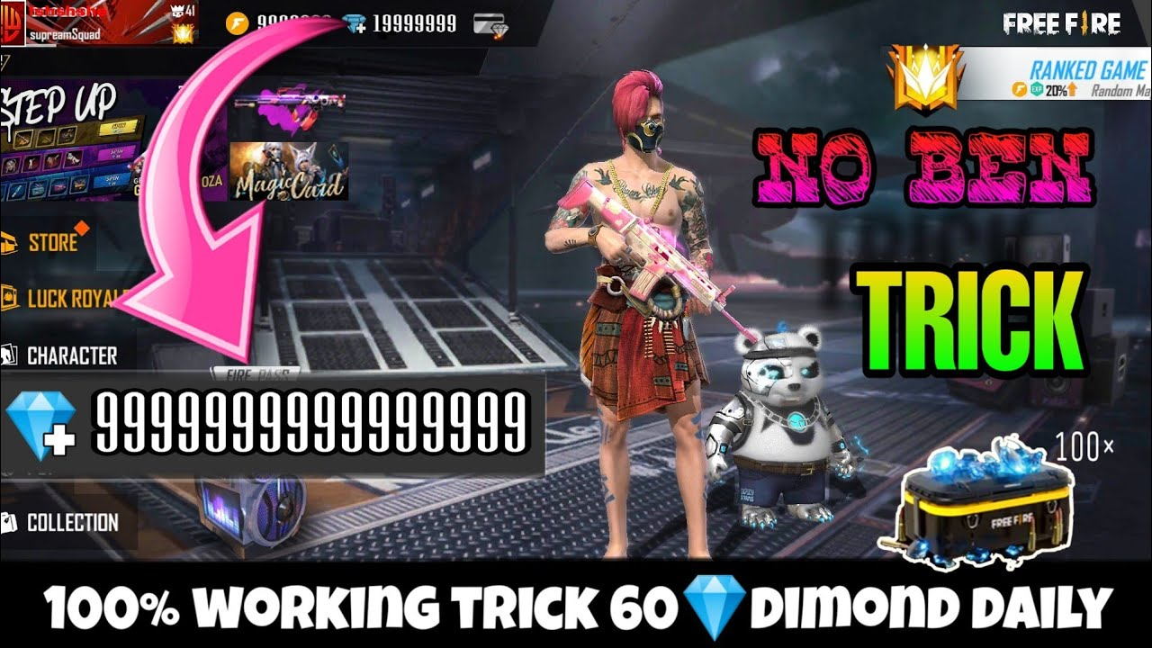 Garena Free Fire Mod Apk V1 52 0 Unlimited Diamonds Obb Aim Bot And Everything The Market Activity