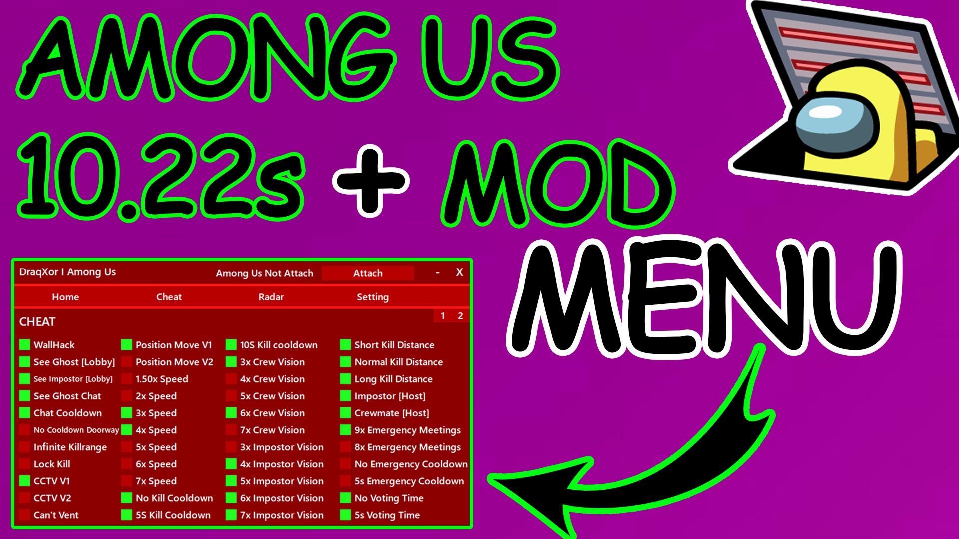 Among Us Mod Menu Hack Apk V2020 11 30 Always Imposter God Mod Apk