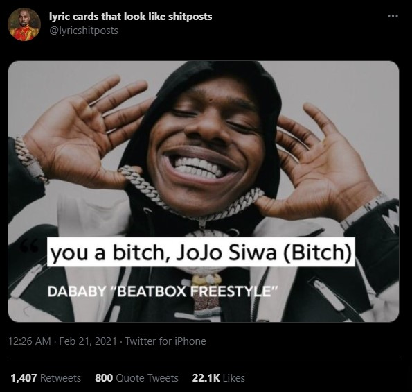 DaBaby's height