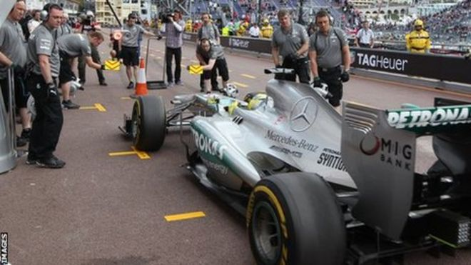 Mercedes Stopped Pirelli test due Low budget, Bad Days? F1