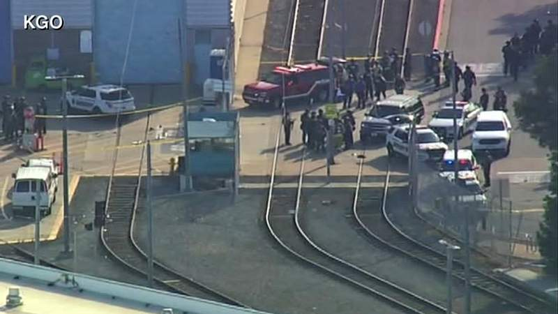 California Open Fire 8 Dead after shooting at public transit rail yard in San Jose