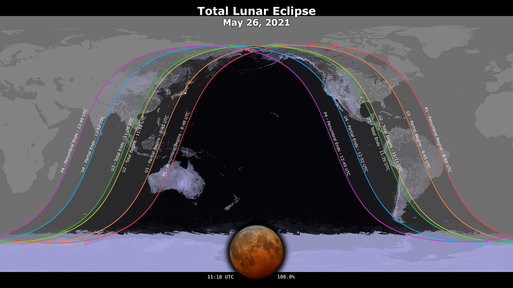 Lunar eclipse, Blood Supermoon Will Appear on 26 May. Is it Safe to Watch?