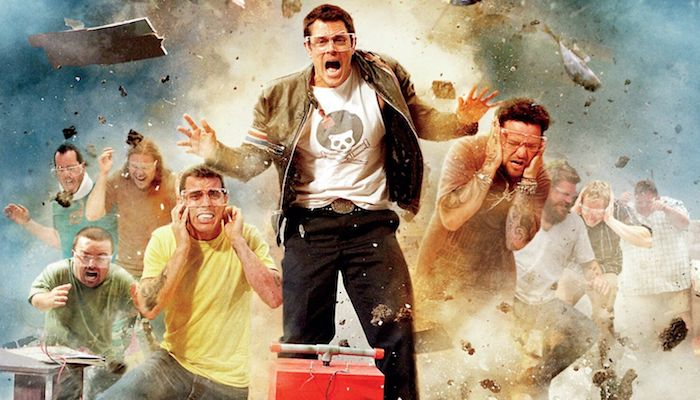 Steve-O Jackass 4 Stunts: Being [Paralyzed] & Jumping Into Pool Of Urine, Depressed?