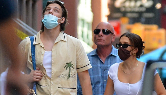 Millie Bobby Brown and rumoured boyfriend Jake Bongiovi