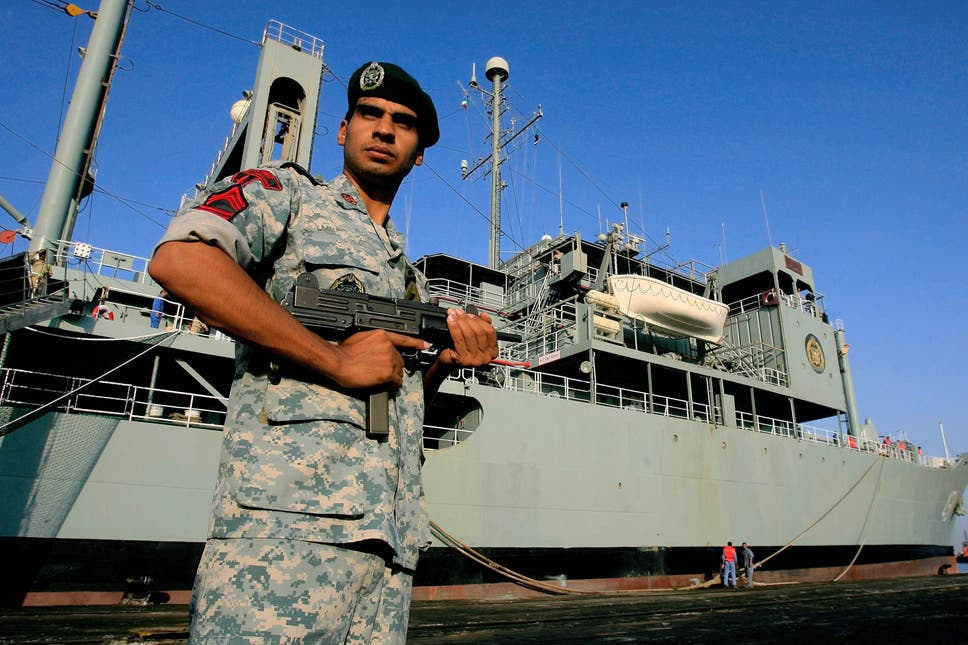 Iran's Largest Navy Warship BURNED Fire and Sinks in Gulf of Oman, ATTACKED?