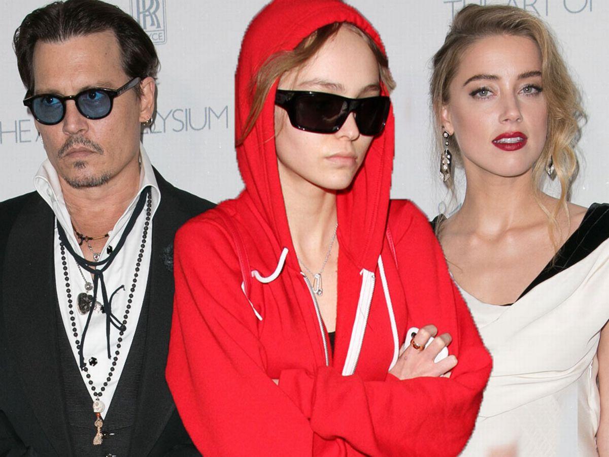 Lily Rose Depp Speak Out Against Amber Heard & Start to Support Johnny Depp During Libel Case