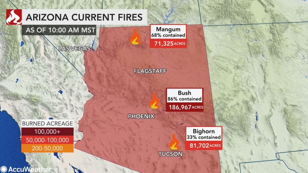 Arizona Wildfires Turns Much Worse, Unexpected