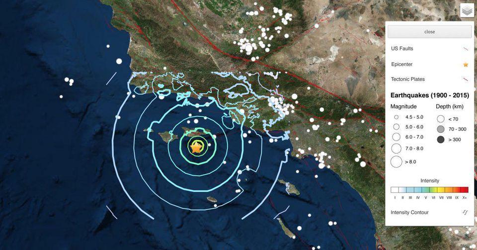 Lots of earthquakes, including magnitude 5.3, strike near Salton Sea Caused Damage?