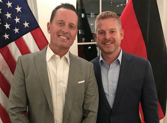 Richard Grenell's Partner Matt Lashey : GAY