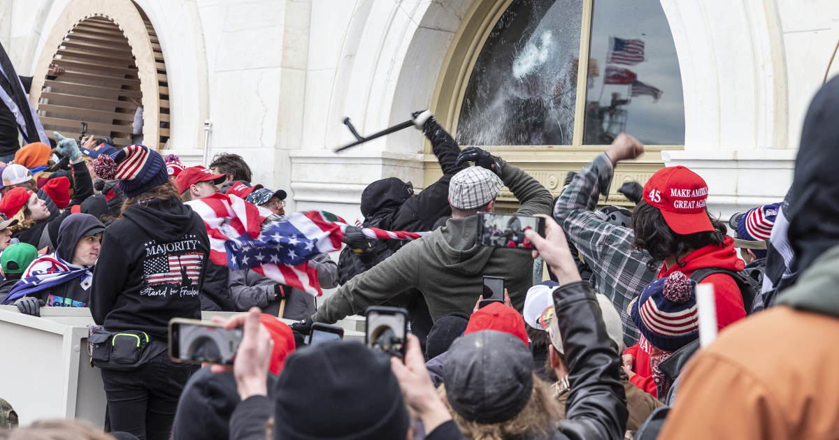 DOJ Charges 5 Members Due to Capitol Riot, Arrested of Same family for allegedly joining Roits