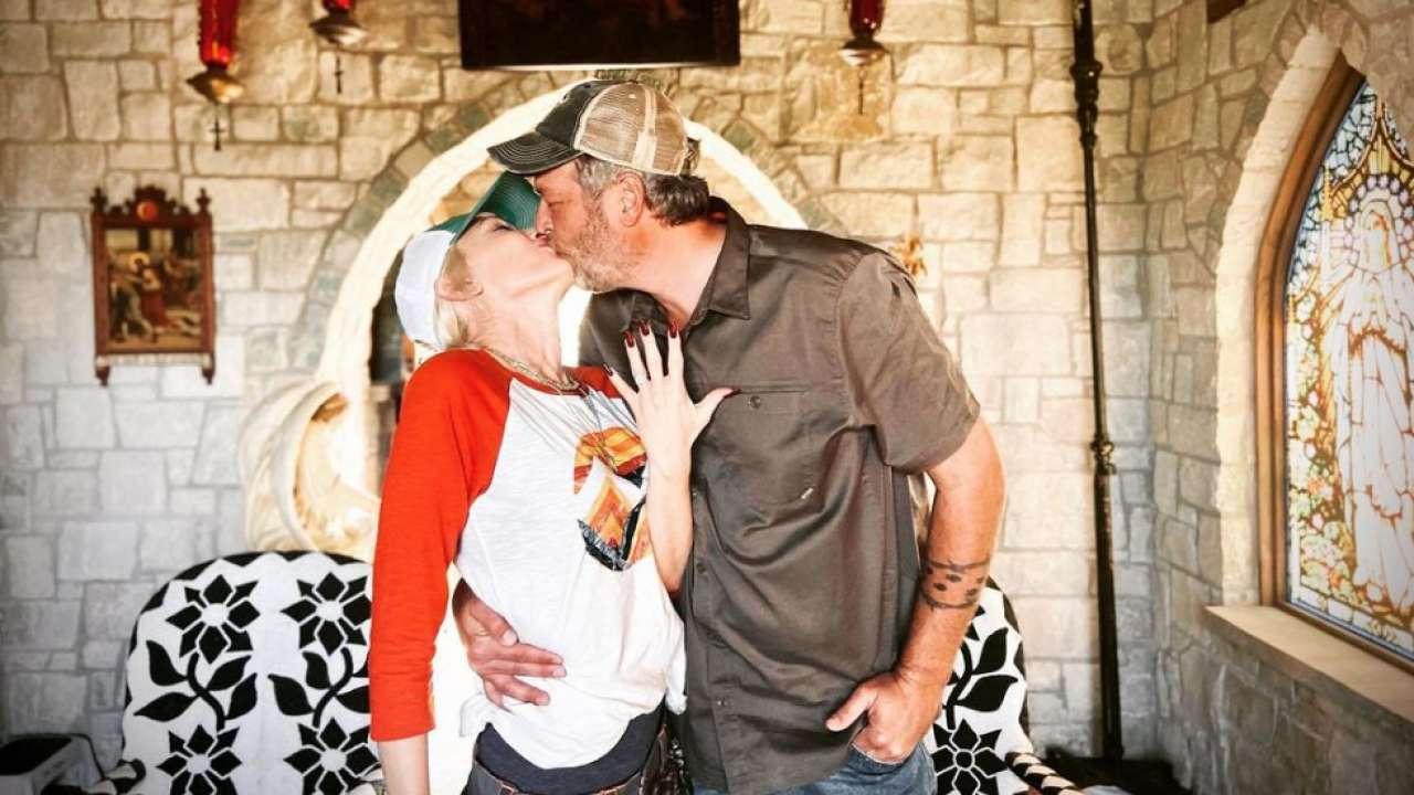 Blake Shelton-Gwen Stefani Finally Married, Exchange ...