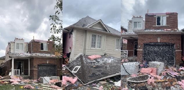 Now Clean-up begins after tornado destroys home, injures people in Barrie, Ont. Deep Details