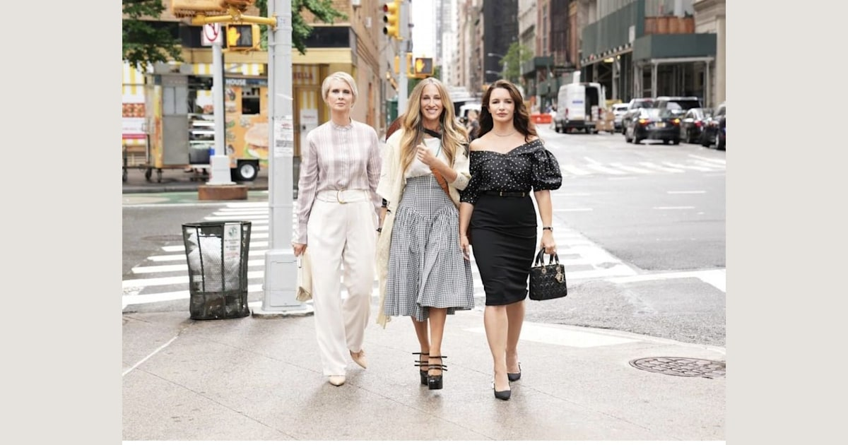 Sex and the City reboot, First Photo Out! 'And Just Like That' Cast Details Revealed?