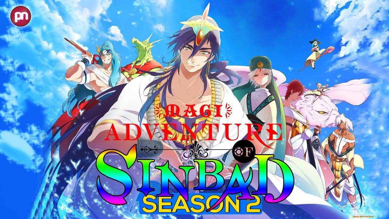 Magi Adventure of Sinbad Season 2