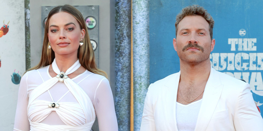 Secret? Margot Robbie & Jai Courtney Are Matching in All-White Outfits at 'The Suicide Squad' Premiere!